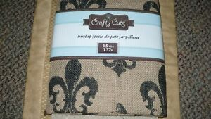 BRAND NEW NEVER USED 1.5 YRDS CRAFTY CUTS FLEUR DE LIS Kitchener / Waterloo Kitchener Area image 10
