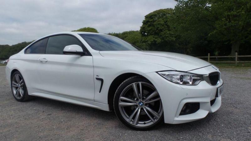 2014 14 BMW 4 SERIES 2.0 420D M SPORT 2D AUTO 181 BHP DIESEL