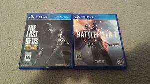 Will sell or trade ps4 games for resident evil 7