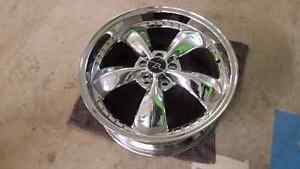 2005-2014 Mustang 5 spoke chrome wheel