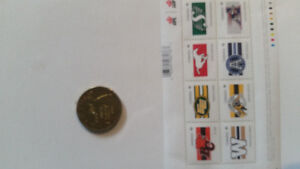 100th Grey cup stamps Cambridge Kitchener Area image 3
