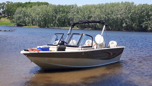 172 SMOKER CRAFT Fish & Ski, 135HP Evinrude HO