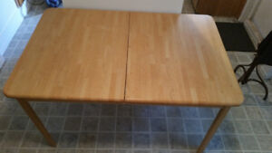 Ikea Wooden Dining Table with 8 chairs