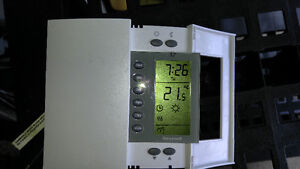 thermostat for electric heating