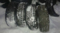 4 winter tires for sale.Size 185-65-14