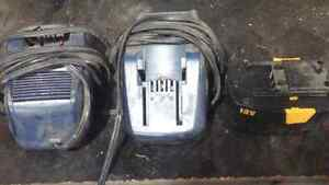 2 Mastercraft 12V chargers for cordless drill