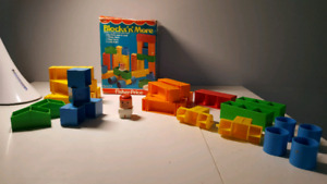 Fisher price vintage BLOCKS'N'MORE