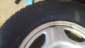 Winter Tires w RIMS - Honda CRV ****BEST OFFER