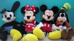 Disney Minnie-Mickey Mouse-Goof-Oswald the Lucky Rabbit