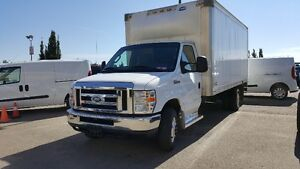 2013 FORD E-450 E-SERIES CUBE VAN GREAT FOR MOVING & STORAGE !!