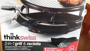 2-in-1 Grill & Raclette St. John's Newfoundland image 1