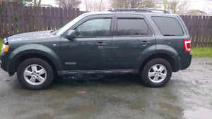 2008 ford escape with inspection slip provided