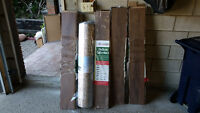 4 boxes of laminate + 1 roll insulation - $40 OBO