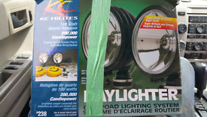 """Kc daylighters 6"""" 100w 200k candle power"""