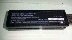 RECHERCHE  Ps3  CECHYA-0081 Wireless Stereo Adapteur !!!