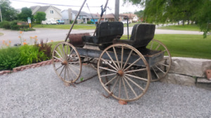 Western Wagon Antique 1923 still mobile
