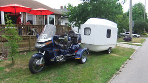 1988 Honda Goldwing Trike and camper Windsor Region Ontario image 1