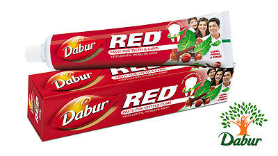 Dabur Red Paste - Best Natural Toothpaste for Bad Breath & (Best For Bad Breath)
