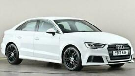 image for 2017 Audi A3 2.0 TDI S Line 4dr S Tronic Auto Saloon diesel Automatic