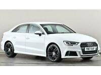 2017 Audi A3 2.0 TDI S Line 4dr S Tronic Auto Saloon diesel Automatic