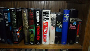 Robert Ludlum hardcover books