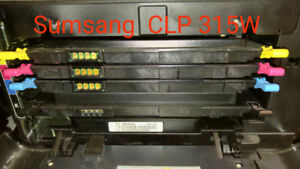 4  Toner Cartridge for Sumsang CLP 315W Laser Color printer