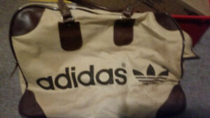 Authentic Classic Vintage 1970's Adidas Weekender Gym Bag