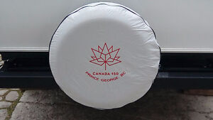 RV Spare Tire Cover Embroidered - wrong size for us
