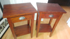 2 bed side tables from Wicker Emporium