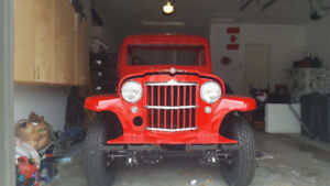 almost finished Willys P/U