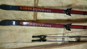 Whitewoods Cross Tour 177mm ski package