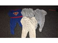 9-12 months sleep suits