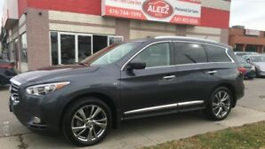 2014 Infiniti QX60 CLEAN LOW MILEAGE NO ACCIDENT, ONE OWNER, NAVIAGTI