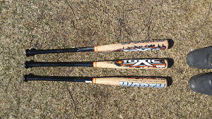 Worth wooden softball bats