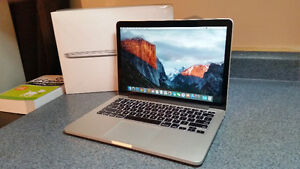 "Early 2015, 13"" MacBook Pro, i5 2.7 GHz, *8 month Warranty*"