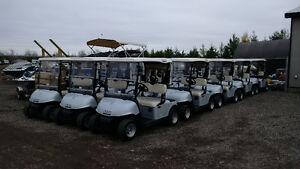 2012 EZ-GO RXV ELECTRIC GOLF CARTS * FINANCING AVAIL. O.A.C. Kitchener / Waterloo Kitchener Area image 1