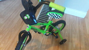 Road racer childs bike( removable training wheels)