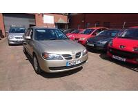 2004 / 04 Nissan Almera 1.5 SE 5 Door Full MOT+Warranty+AA Cover