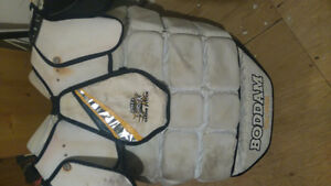 NLL pro series BODDAM lacrosse goalie chest protector $80