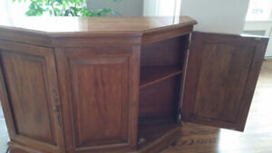 Traditional Wood Console