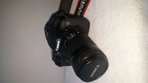 Canon 7d with lens