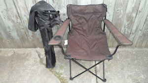 3 Folding Camp Chairs $15 each or all for $30.