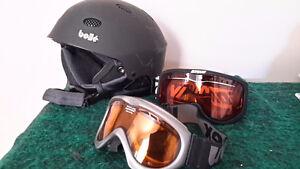 Ski-Snowboard helmet and goggles Peterborough Peterborough Area image 1