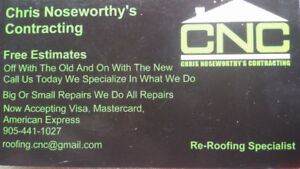 For All Of Your Roofing Needs!
