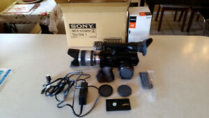 Sony Nex-VG900 Camcorder package