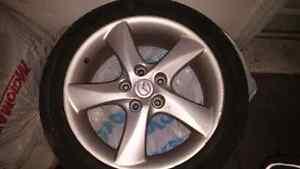 Mazda 3 tires and genuine Mazda rims