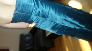 NEW - flr length teal strapless gown stretch satin Peterborough Peterborough Area image 4