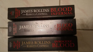 James Rollins series of 3 books MINT Cambridge Kitchener Area image 2