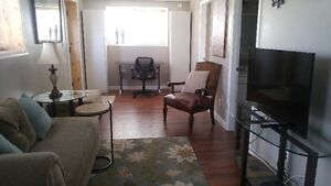 Executive 2 bedroom furnished suite for rent