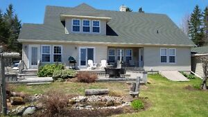 Waterfront property in Shediac area with private beach